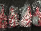 MULTIPLES 35 Red White Red Green Ribbon Candy Cane Tree Christmas Gingerbread
