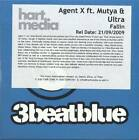 Agent X featuring Mutya & Ultra - Fallin (2009) 5 Track UK Promo CD
