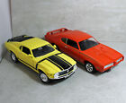 Ertl 1 18 Scale Diecast Car 2 Piece Lot 69 GTO 70 Mustang