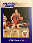 1988 JOHN PAXSON (SLU) STARTING LINEUP CARD ONLY Chicago BULLS