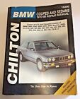 Chilton BMW Coupes and Sedans 1970 to 1988 Repair Manual Book 18300