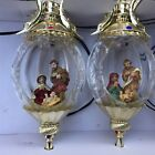 Large Lighted Nativity Christmas Ornaments LED Palace Lamp Manager Menards 2010