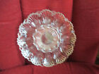 Vintage Heavy Clear Glass Deviled Egg Tray 9-3/4