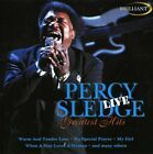 Percy Sledge - Greatest Hits Live - Percy Sledge CD N8VG The Fast Free Shipping