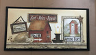 REST RELAX RENEW SIMPLIFY NOT FANCY Rustic powder  Bathroom outhouse wood sign