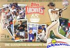 2016 Topps Archives 65th Anniversary Edition Factory Sealed Box-AUTOGRAPH !!