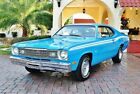 Plymouth Duster Spectacular Broadcast Sheet Low Miles Factory A/C must be seen 1973 duster 340 Factory A/C Believed 21k Original Miles Power Steering