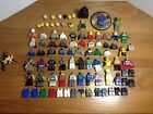 Lot Of 90 Assorted Lego Mini Figures HEADS BODIES LEGS ARM PARTS