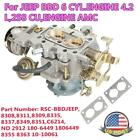 RSC BBDJEEP Carburetor For Jeep Carb BBD 6 CYL 42L 258 CU Engine AMC CJ5 CJ7