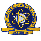 Midtown School Of Science Logo Embroidered Iron On Patch