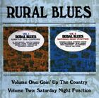 Various Artists - Rural Blues: Volumes One & Two - Various Artists CD ZXVG The
