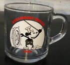 Disney 1928 Mickey Mouse STEAMBOAT WILLIE Anchor Hocking Cup Mug RARE Vintage