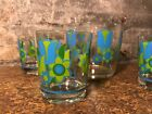 Vintage Mod Royal Kendall Bar Set Ice Bucket Highball Glasses Nice Colors