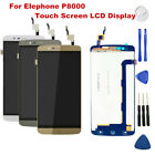 For Elephone P8000 LCD Display Touch Screen Digitizer Assembly with Repair Tools