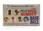 2018 TOPPS HERITAGE HIGH NUMBER HOBBY EDITION SEALED BOX