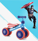 Captain America Toddler Tricycle Baby Balance Bike Children Walker Scooter Toy