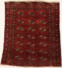 Tribal Design S Antique Vintage Handmade Small Persian Rug Oriental Carpet 4X5