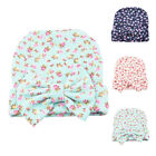 Newborn Baby Girls Nursery Beanie Hospital Hat with Bow Cute Christmas Gifts