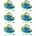 SwimWays Baby Spring Float Activity Center Pool Raft with Sun Canopy 6 Pack