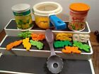 Fisher Price Fun With Food Simmering Saucepan Alphabet Soup  Vegetables Vintage