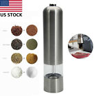 Automatic Kitchen Stainless Steel Electric Salt Pepper Spicer Grinder Tool US