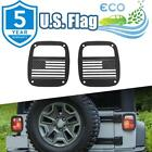Exterior Rear Tail Light Guard Cover Hollow Out For Jeep Wrangler TJ YJ 97-2006