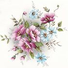 Gladis Pink Blue Wild Flowers Select A Size Ceramic Waterslide Decals Dx