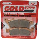 Aprilia Atlantic 250 ie Brake Disc Pads Front R/H Goldfren 2006-2008