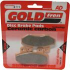 Hyosung GT 125 Comet Naked Brake Disc Pads Rear R/H Goldfren 2003-2010