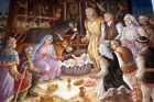 Christmas Nativity Scene Jesus Birth 10X8FT Photo Vinyl Backdrops Background