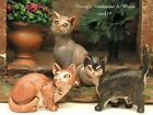 FONTANINI DEPOSE ITALY 753PC+1 CATS NATIVITY VILLAGE ANIMAL FIGURES NEW MIB