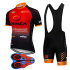2019 Team Racing Bike jersey bib shorts suit summer Men pro Cycling Jerseys Sets