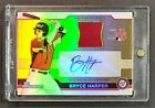 2011 BOWMAN DRAFT ALL-STAR FUTURES BRYCE HARPER ROOKIE RC JERSEY AUTO GOLD # 25!