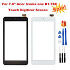 For Acer Iconia One B1 780 Touch Digitizer Screen LCD Display Replacement Tools