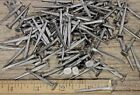""" BRAD NAILS 200 lot antique square wrought iron look round flat heads 1.5"