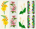 Vintage Mrs Grossman Flower Stickers Freesia Calla Lily Honeysuckle You Choose