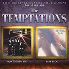 HEAR TO TEMPT YOU / BARE BACK TEMPTATIONS CD