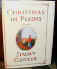 Christmas in Plains  Memories by Jimmy Carter 2001 HCDJ1st Signed Ed Fine