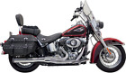 Bassani Chrome Road Rage B1 Power 2 1 Exhaust for 86 17 Harley Softail FLST