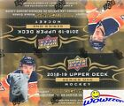 2018 19 UD Series 1 Hockey Factory Sealed 24 Pack Retail Box-6 YOUNG GUNS+Jersey