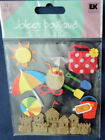 Beach Stickers Dimensional Jolees Boutique Sand Castle Beach Ball New Package