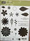 Retired Stampin Up Flower Patch stamp set