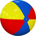 12Ft Inflatable Beach Ball Giant Foot Ball Waterproof Large Pool Swimming Toys