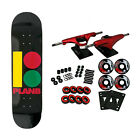 Plan B Skateboard Complete Team Rasta 825
