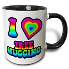 Symple Stuff Benbrook Groovy Hippie Rainbow I Heart Love Tree Hugging Coffee Mug