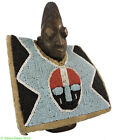 Yoruba Ibeji Twin Doll Female with Rabbit Tunic African Art