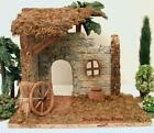 ALL PURPOSE 5 SERIES NATIVITY VILLAGE RUSTIC BLDG STABLE USE w FONTANINI GCIB