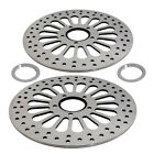Front Brake Discs Rotors 11.5'' for Harley Dyna 1340 FXDB Glide FXLR Custom