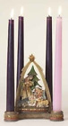 Josephs Studio 6 1 4 Inch tall Nativity Advent Candle Holder candles not includ
