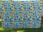 Mid-Century New/Old Stock Linwood Patchwork Coverlet Quilt Reversible/Washable